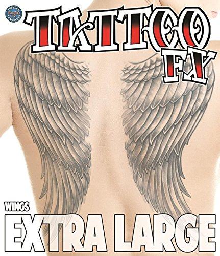 Tinsley Transfers  Wings, Flesh/Multi, One