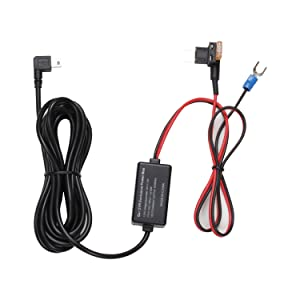 AUTO-VOX Dash Cam 2A Hardwire Kit Mini Fuse Adapter Kit - 12V to 5V for X1 X2 A1 M6 M8 Pruveeo D700 D2Pro G1W & All Mini USB Dashboard Camera Device Car DVR Power Supply - 12.47ft