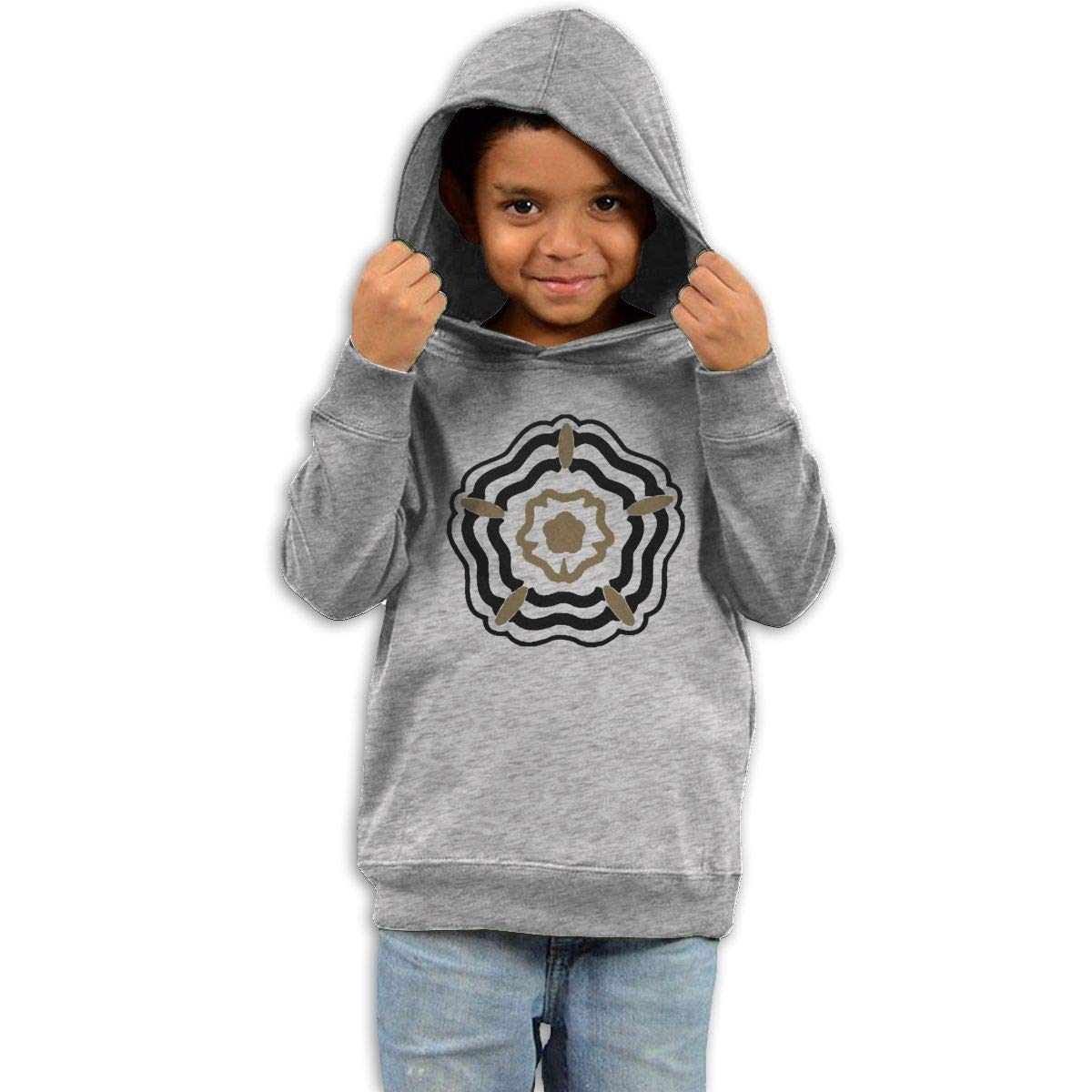 Stacy J. Payne Boys Sam Smith Logo Classic Hoody39 Gray