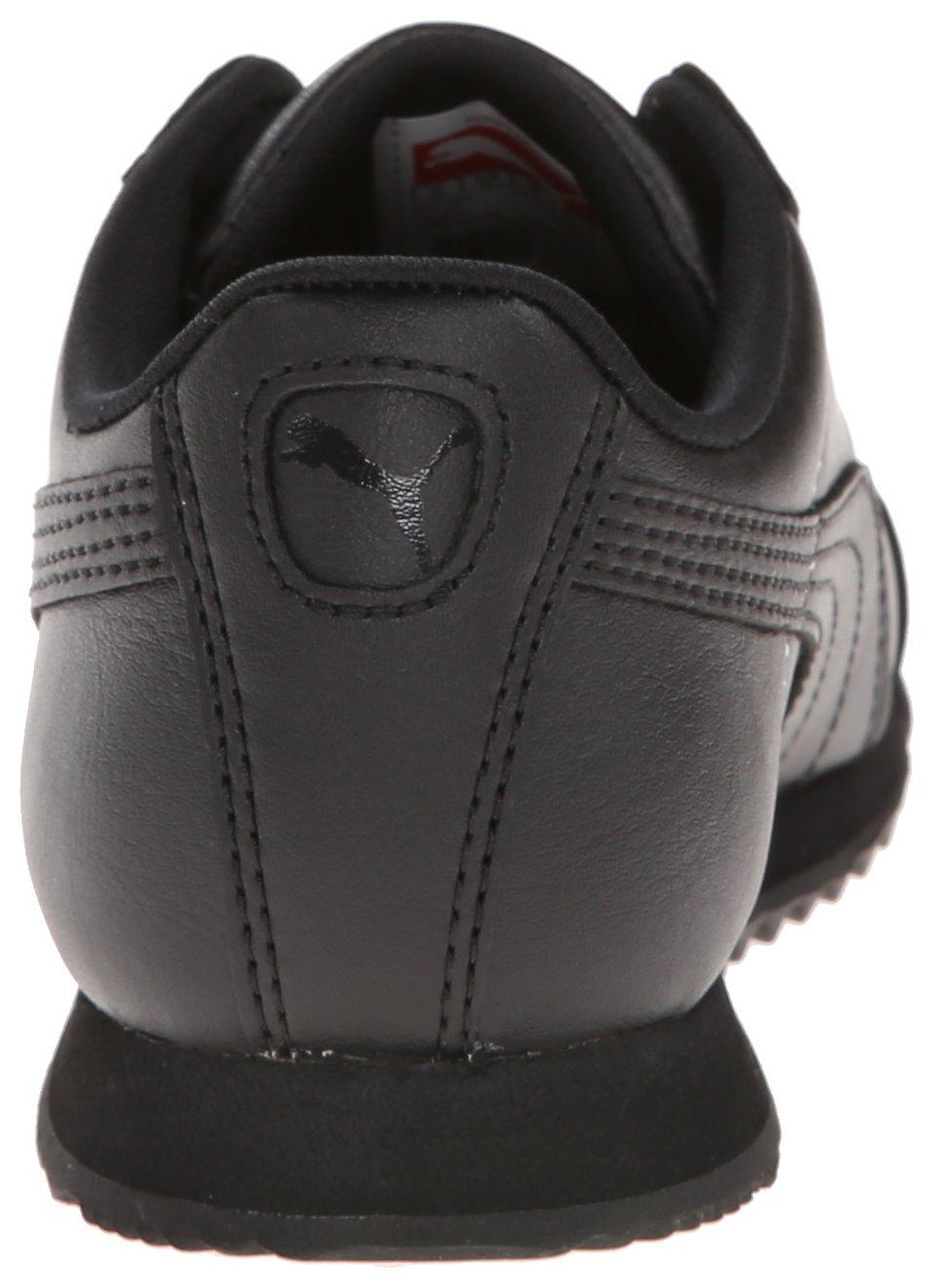 PUMA Roma Basic JR Sneaker , Black/Black, 1 M US Little Kid by PUMA (Image #2)