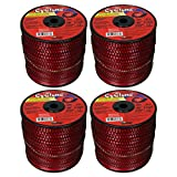 Cyclone CY105S3 Red 0.105-Inch-by-690-Foot Commercial Grade Trimmer Line (4 Pack)
