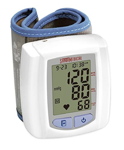 Wrist Blood Pressure Monitor Blends by Santamedical