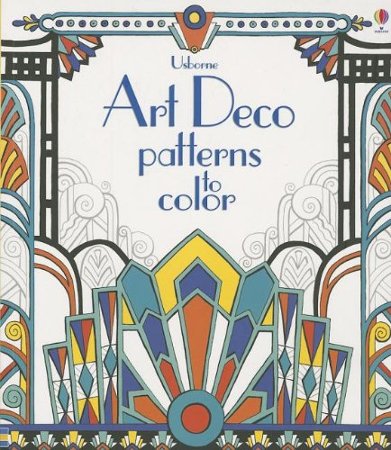 Art Deco Patterns to Color