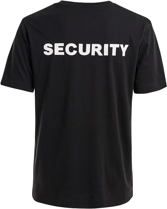 Brandit Hombre Security T-Shirt Negro: Amazon.es: Ropa y accesorios