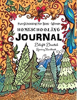 Do it yourself homeschool journal for the creative student fun schooling for boys winter homeschooling journal this 60 day homeschooling workbook covers solutioingenieria Choice Image
