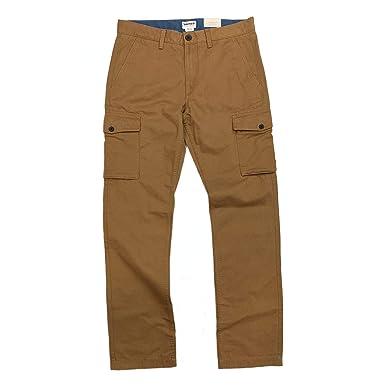496db53e62 Timberland Men's Squam Lake Straight FIT Light Brown Cargo Pants (32W x ...