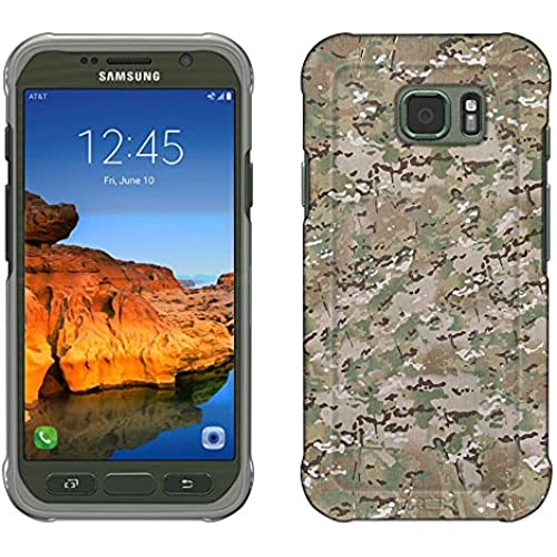Samsung Galaxy S7 Active Case, Snap On Cover by Trek Camouflage Texture Slim Case Sales