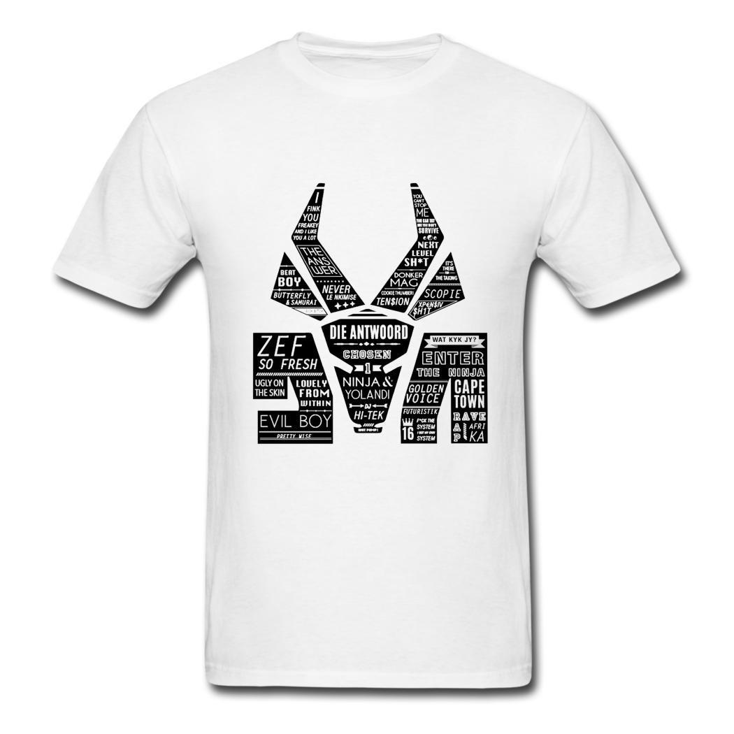 Die Antwoord negro Logo Graphic camiseta para hombre color ...