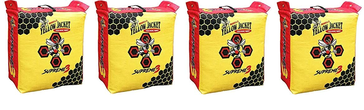 Morrell Yellow Jacket Supreme 3 Field Point Bag Archery Target (Fоur Расk) by Morrell