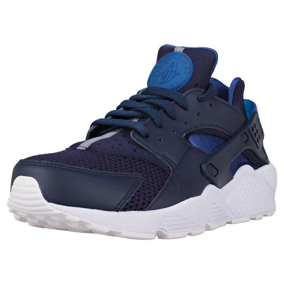 Nike Air Huarache Herren Laufschuhe  405 EU|Blau (Obsidian/Gym Blu/Bianco/Pure Platinum 420)