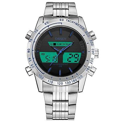 SPORTWATCHES Relojes Hermosos, los Hombres y Las Mujeres Forman la Correa de Reloj Impermeable al