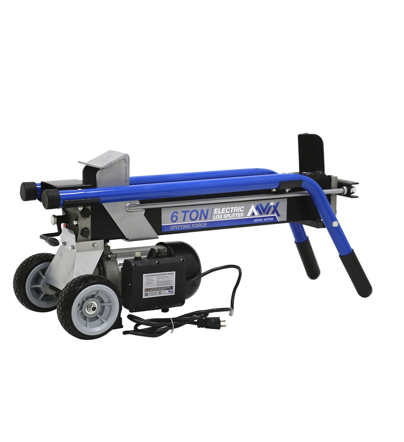 AAVIX AGT306 Electric Log Splitter, 6 Tons by AAVIX