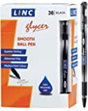 Linc Glycer smooth ball point pen 36 pk - Black