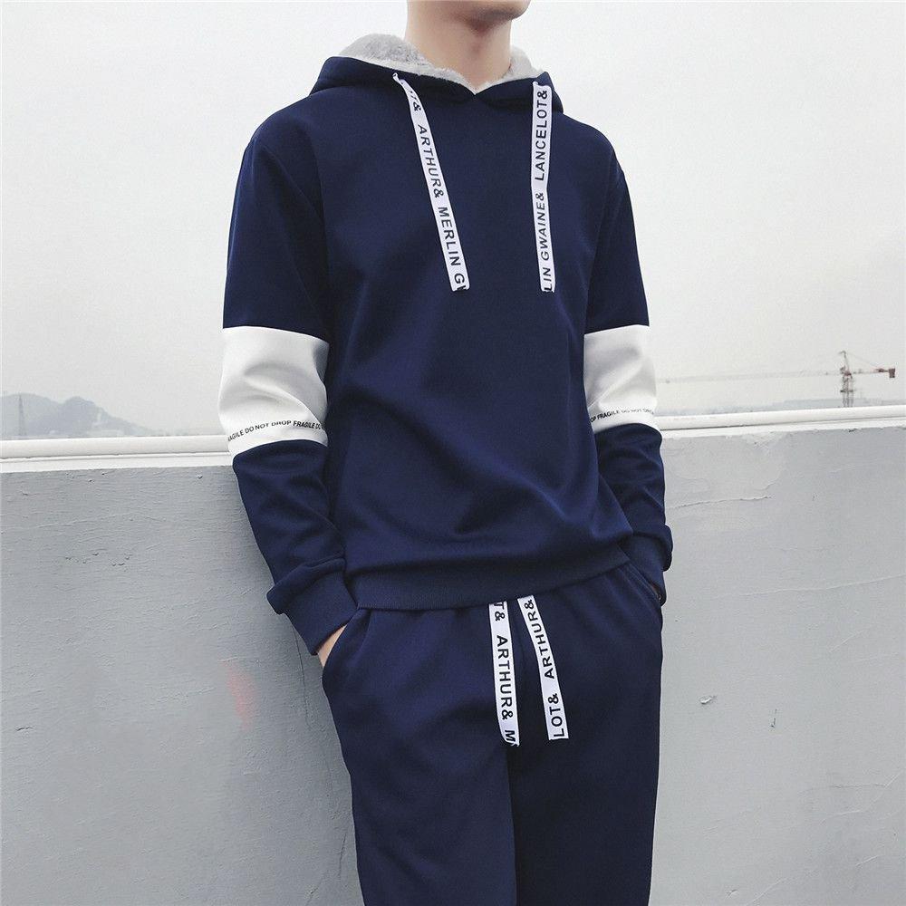 Ndsoo Pullover, Anzug und Kaschmir - Pullover für Wintersport - Mantel Pullover männer Studenten,Navy Blau,4XL