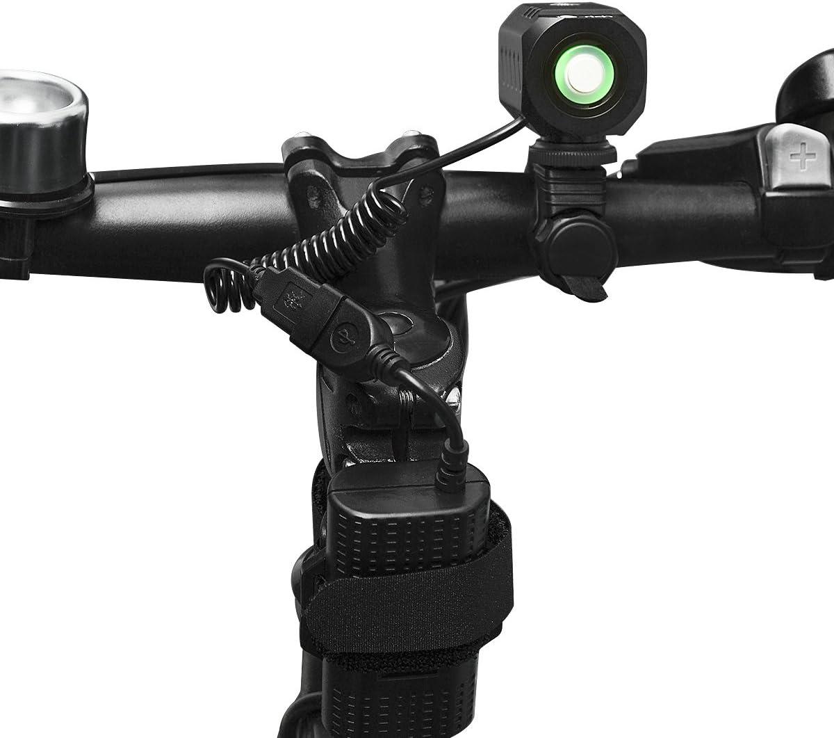 Super Bright Bike Light USB Rechargeable Te-Rich 1200 Lumens Waterproof Road...