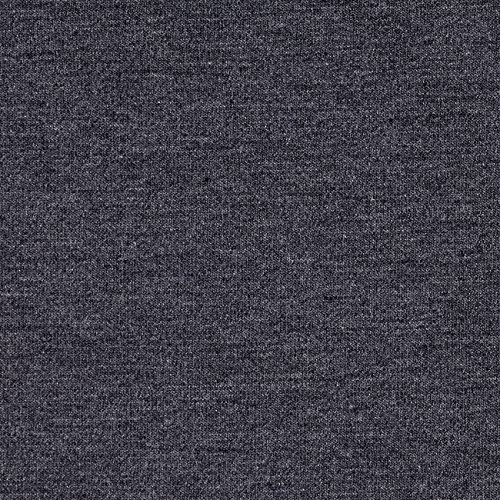 TELIO Microbrushed Ponte Knit Dark Grey Melange Fabric by The Yard