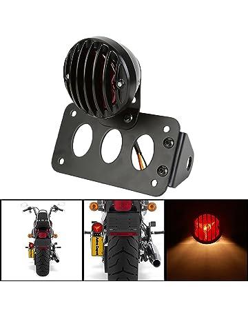 LED Tail Light Plate Holder Metal Chromed Super Quality for Motorcycle Motorbike