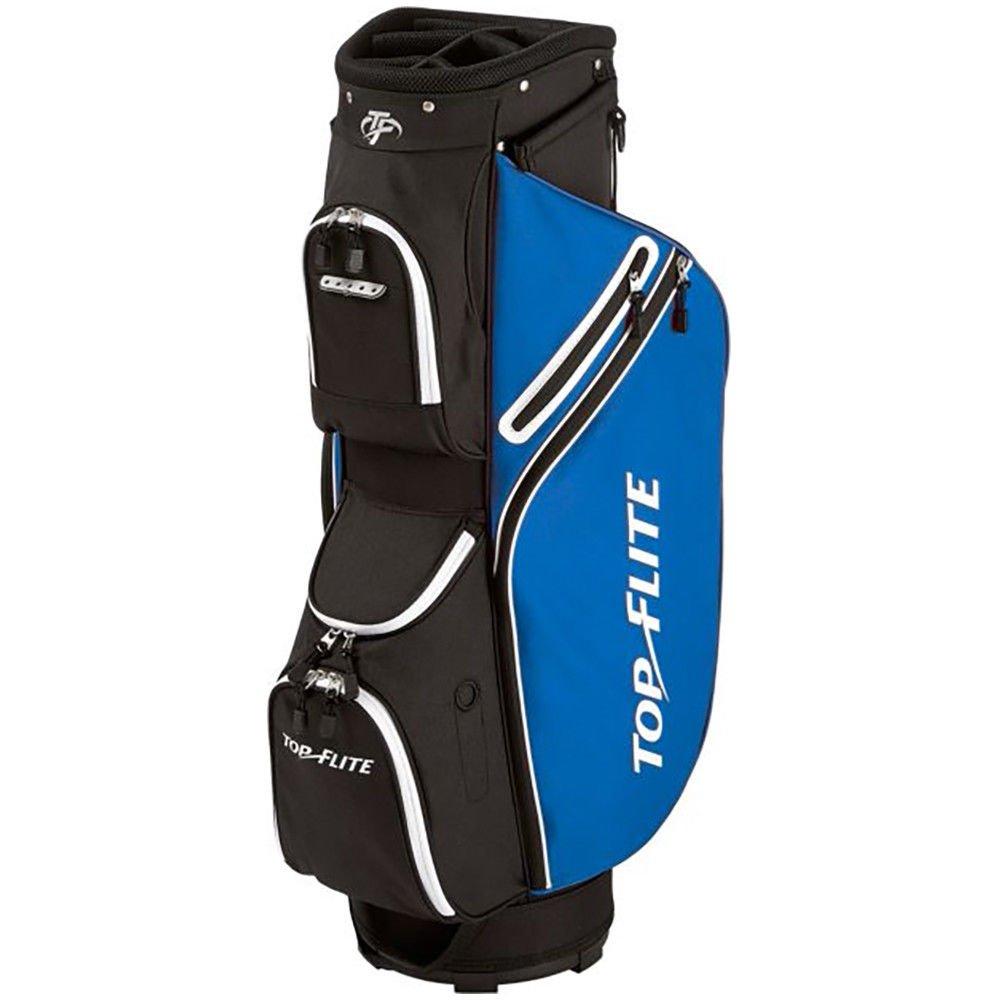 Top Flite 2018 Golf Cart Bag Mens Lightweight 8-Way Top - Black/Blue by Top Flight (Image #1)