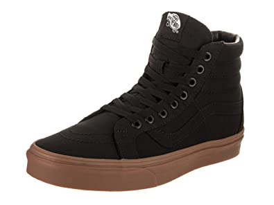 b0c91ba93bbc3c Vans Unisex Sk8-Mid Reissue (Reflective) Skate Shoe Canvas Gum Black Light