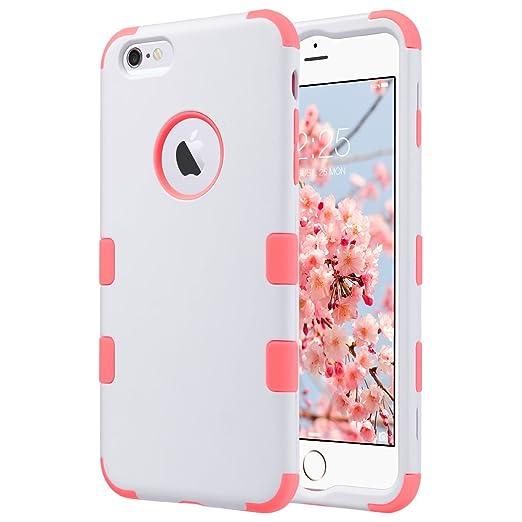 5 opinioni per Cover iPhone 6S Plus, ULAK Custodia iPhone 6 Plus, PC + TPU Cover ibrida rigida