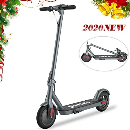 magicelec Scooter Eléctrico para Adultos,Potente Motor De 250W,Neumático Macizo De 8