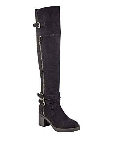 G by Guess Womens Marshall Closed Toe Knee High Fashion Boots Black Size 8.0