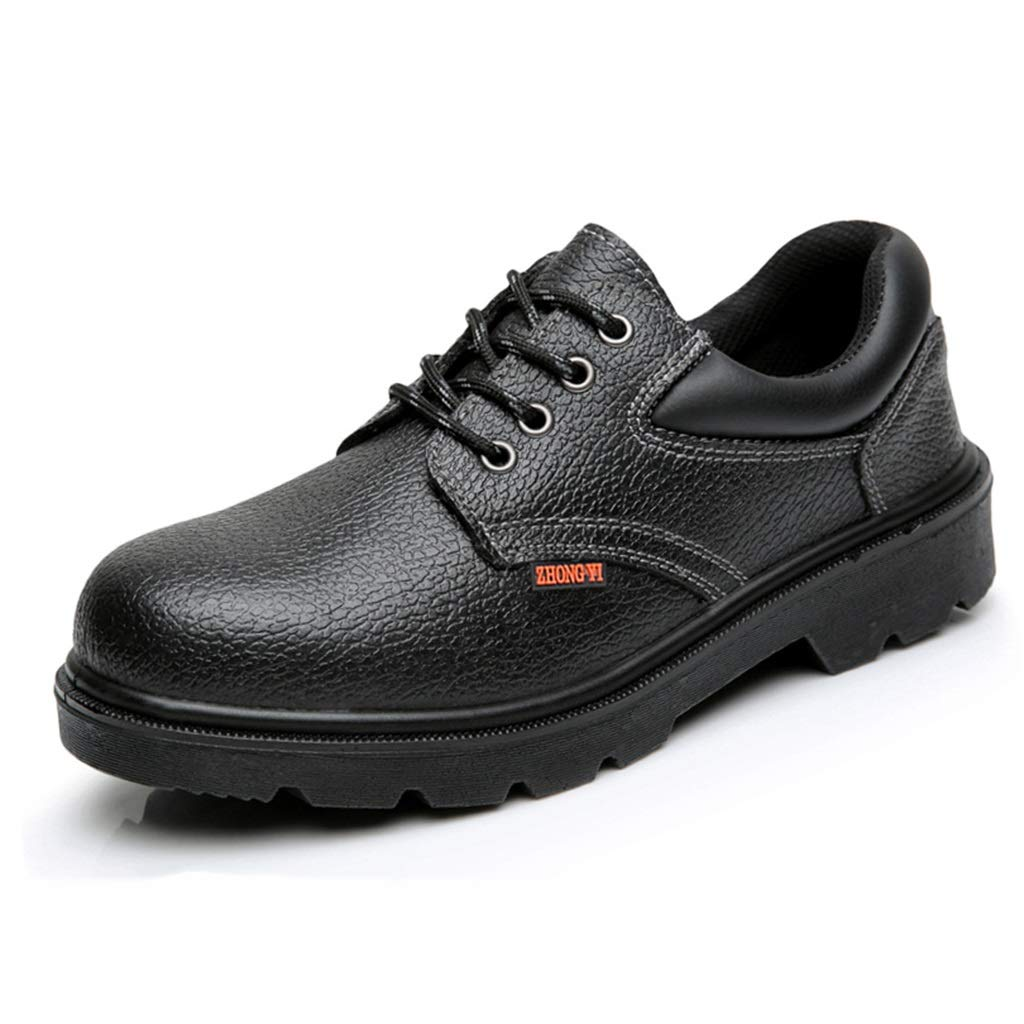 Djpcvb Safety Shoes Man Safety Shoes, Men's Work Shoes, Light, Smash-Proof, Stab-Resistant, Gas-Insulated, Insulated, Industrial Construction, Sports Shoes Safety Boots (Size : 40)