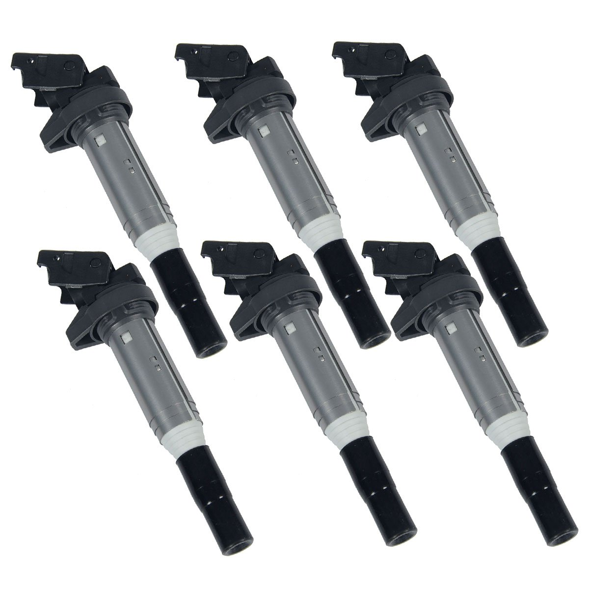 Set of 6 Ignition Coils Pack for BMW E60 E61 E70 E71 E82 E88 E90 E91 E93 F10 F25 F30 E85 E89 Mini Cooper