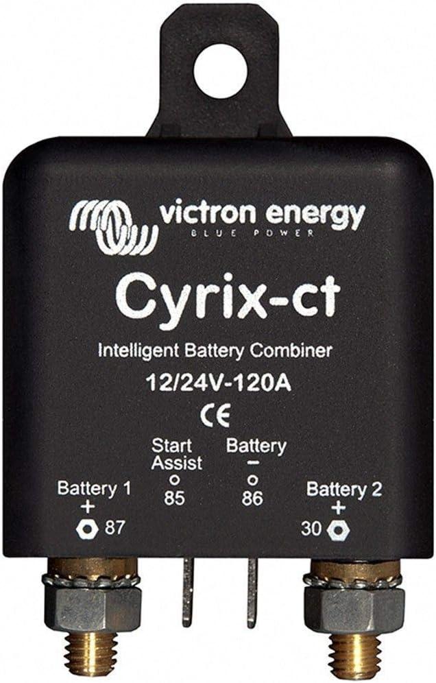 Victron Energy CYR010120011 Acoplador de batería, Cyrix-CT 12V/24V 120A, Talla única