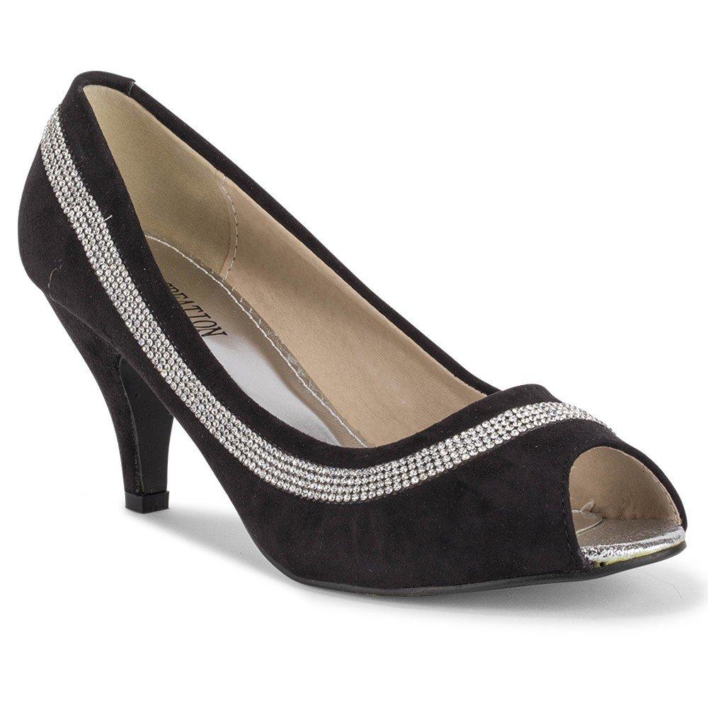 Süße Party Damen Pumps Glitzer High Heels Schuhe 172 31 Gr. 36 40