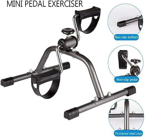 PA Mini Bicicleta Estática, Casa Mini Pedal Bicicleta para ...