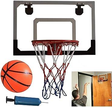 Ejoyous - Minicanasta de Baloncesto para Interiores, Sistema de ...