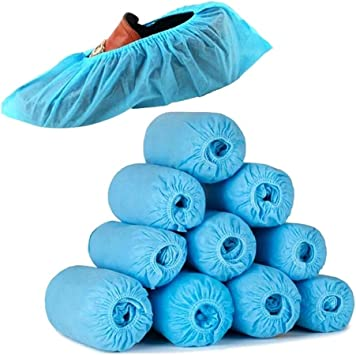 Details about  /2 Pair Non Slip Dustproof Shoe Covers Overshoes Boot-Covers for Indoor Household