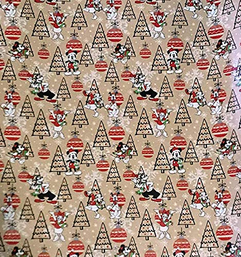 (Vintage Mickey Mouse Gift Wrapping Paper - 40 sqft)
