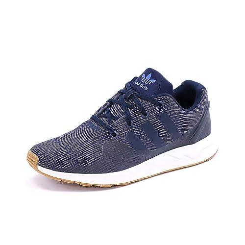 grossiste 37c8f 683a6 adidas Chaussures ZX Flux ADV Tech Bleu Homme: Amazon.fr ...