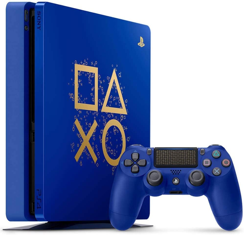 Consola PlayStation 4 Slim de edición limitada de 1 TB, paquete de días de juego (encarnado): Amazon.es: Electrónica