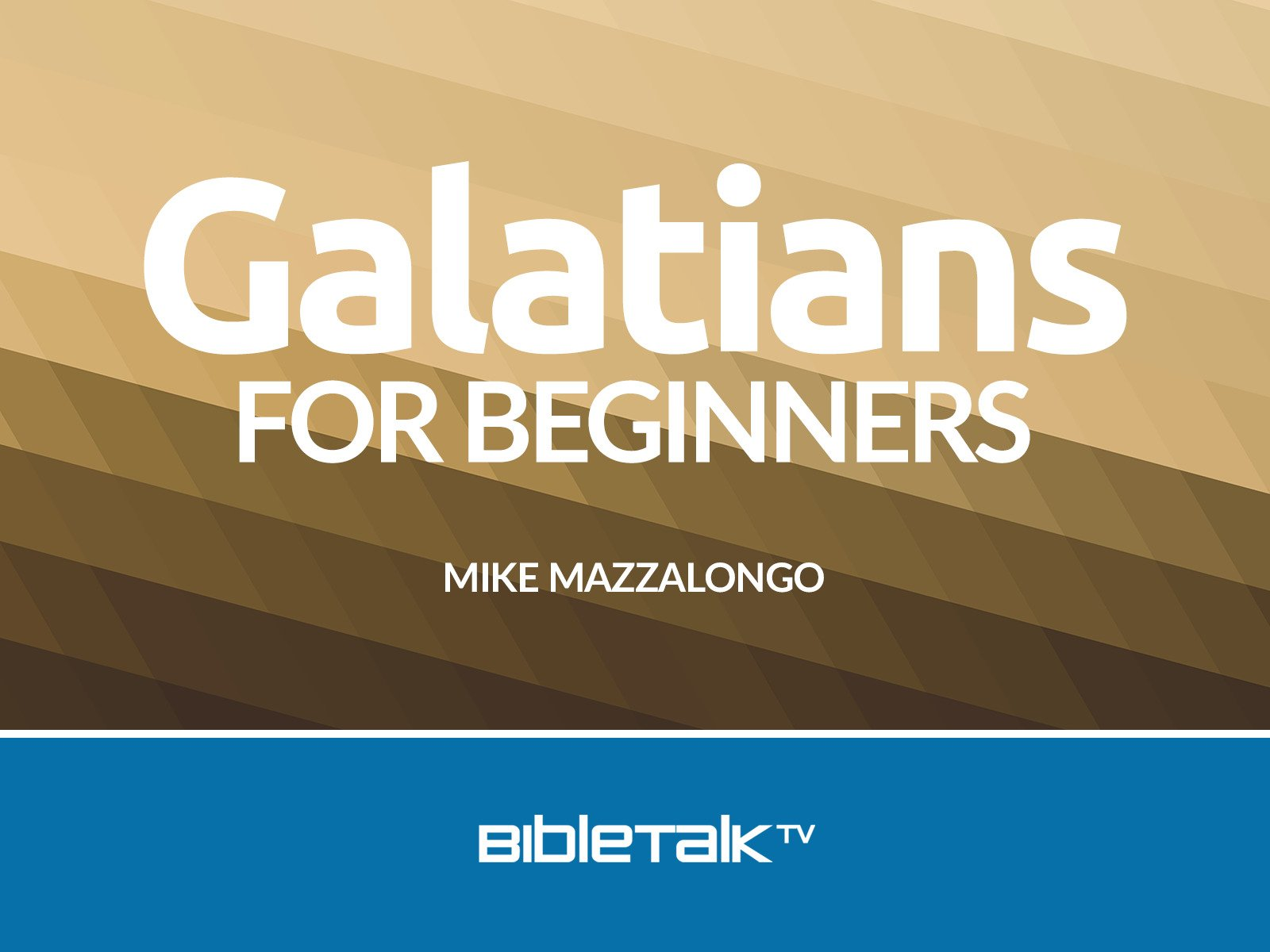 Galatians for Beginners on Amazon Prime Video UK
