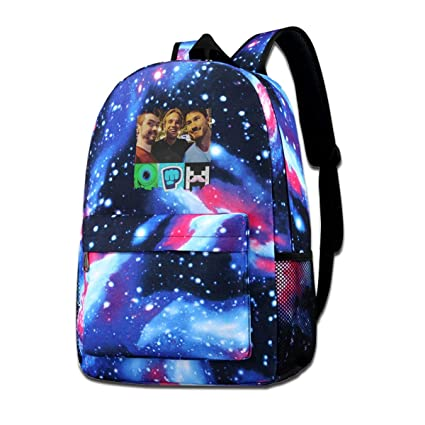 Amazon com: PZJ B KING Galaxy School Backpack Pewdiepie Vs