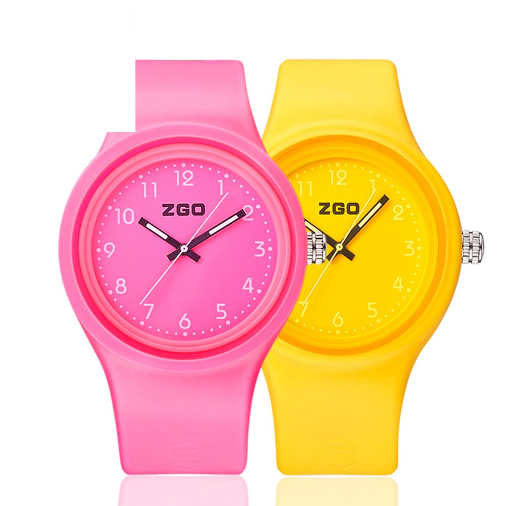 QING KDSAJ Luminous waterproof watch/Korean version of the simple matching watches-N