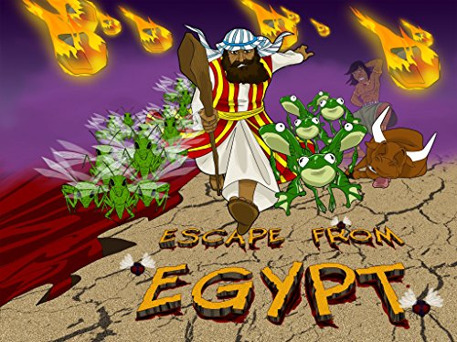 Escape from Egypt | Moses and the Ten Plagues (The Story Of Moses The Ten Plagues)