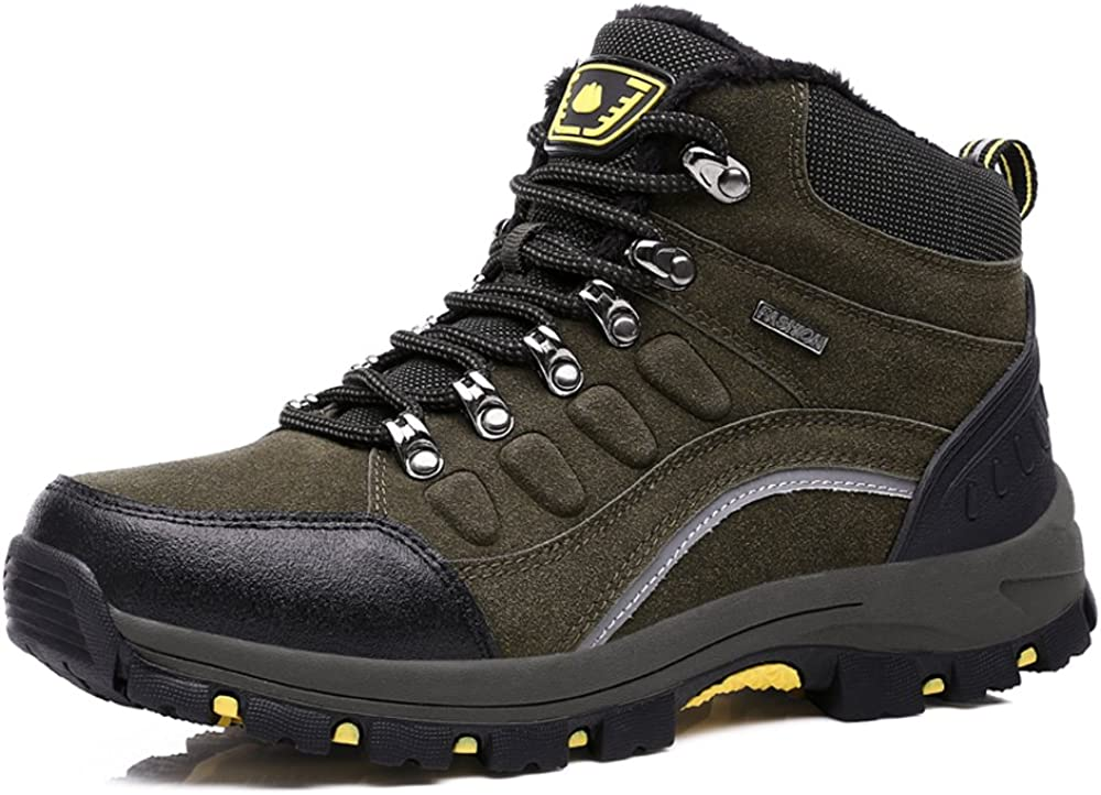 DLQuanyi Mid-Rise Waterproof Hiking Boots, Trekking Shoes, Unisex Couple Outdoor Shoes, 4 Optional Colors