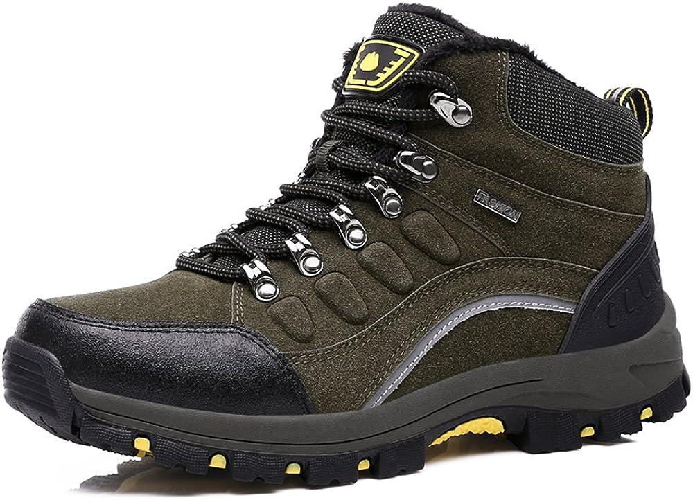 DLQuanyi Mid-Rise Waterproof Hiking Boot
