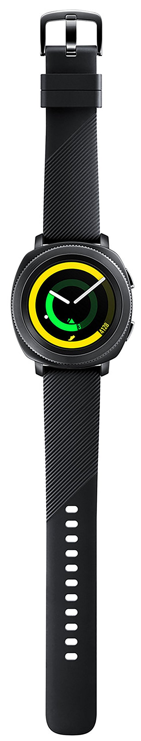 Samsung Gear Sport Smartwatch Fitness Tracker- Water Resistant - International Version- No Warranty- Black (SM-R600NZKATTT) by Samsung (Image #5)