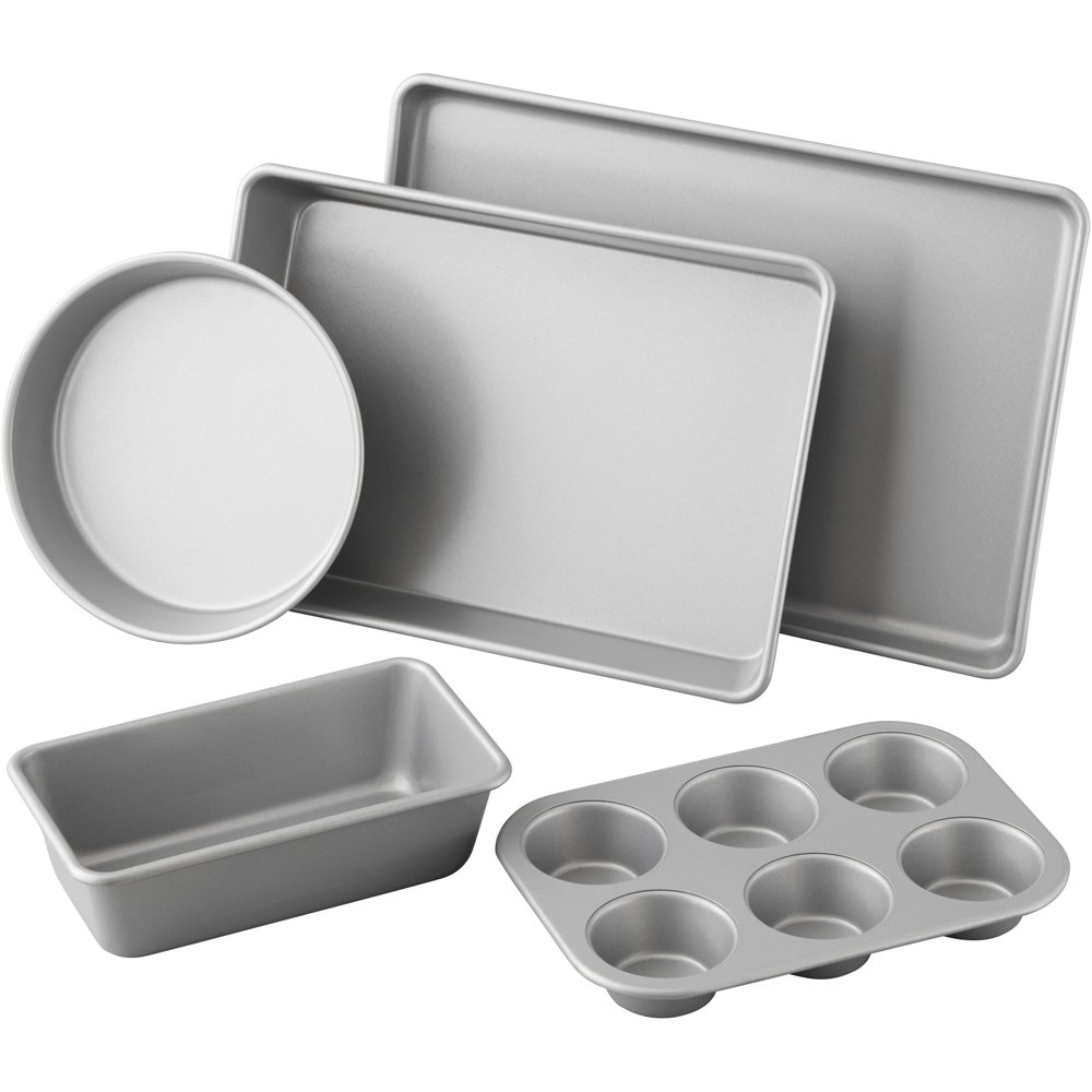 Wilton 5 Piece Best Value Non-Stick Bakeware Set, 2105-2560