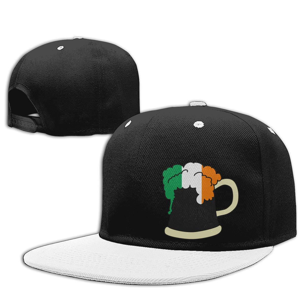 NMG-01 Women Men Trucker Cap Irish Beer Adjustable Hip Hop Baseball Caps
