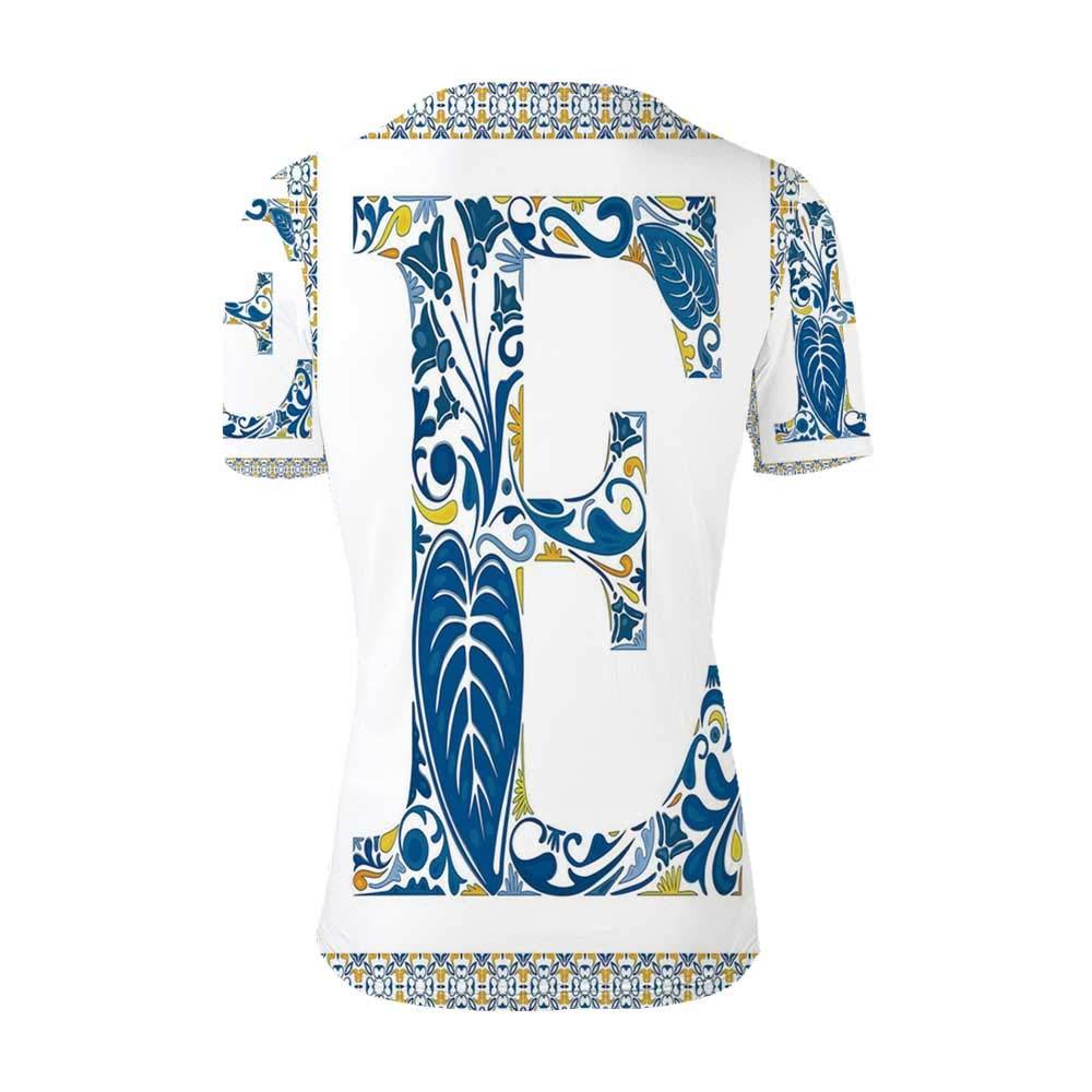 Letter E Fashionable T Shirt,for Men,S