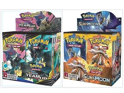 36 Pack Booster Box Pokemon TCG Sun & Moon Team Up