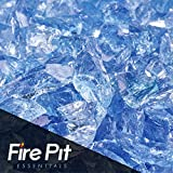 Cheap Lake Tahoe Blue Crushed Fire Glass 3/8″-1/2″ Firepit Glass 10 Pounds