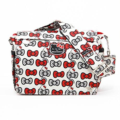 Ju-Ju-Be Hello Kitty Collection Better Be Messenger Diaper B