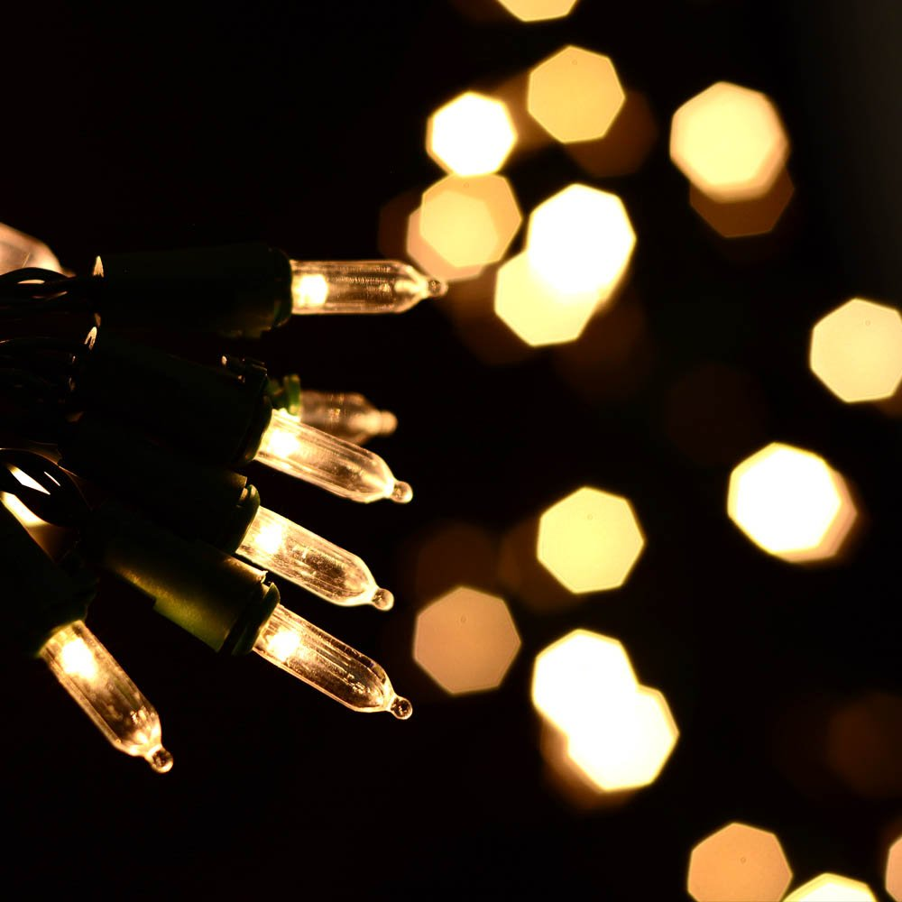 Amazon.com : Qedertek Battery Christmas Lights, 50 LED 13.1ft ...